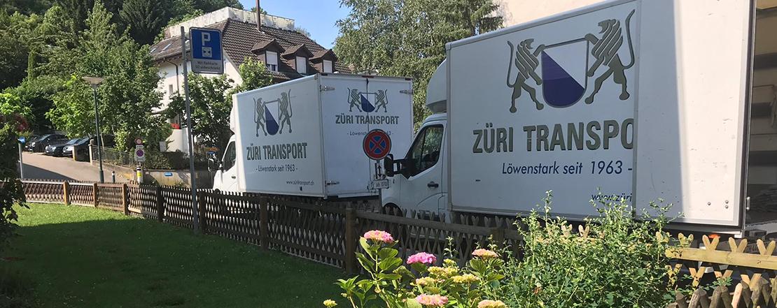 20 Umzug in Zürich