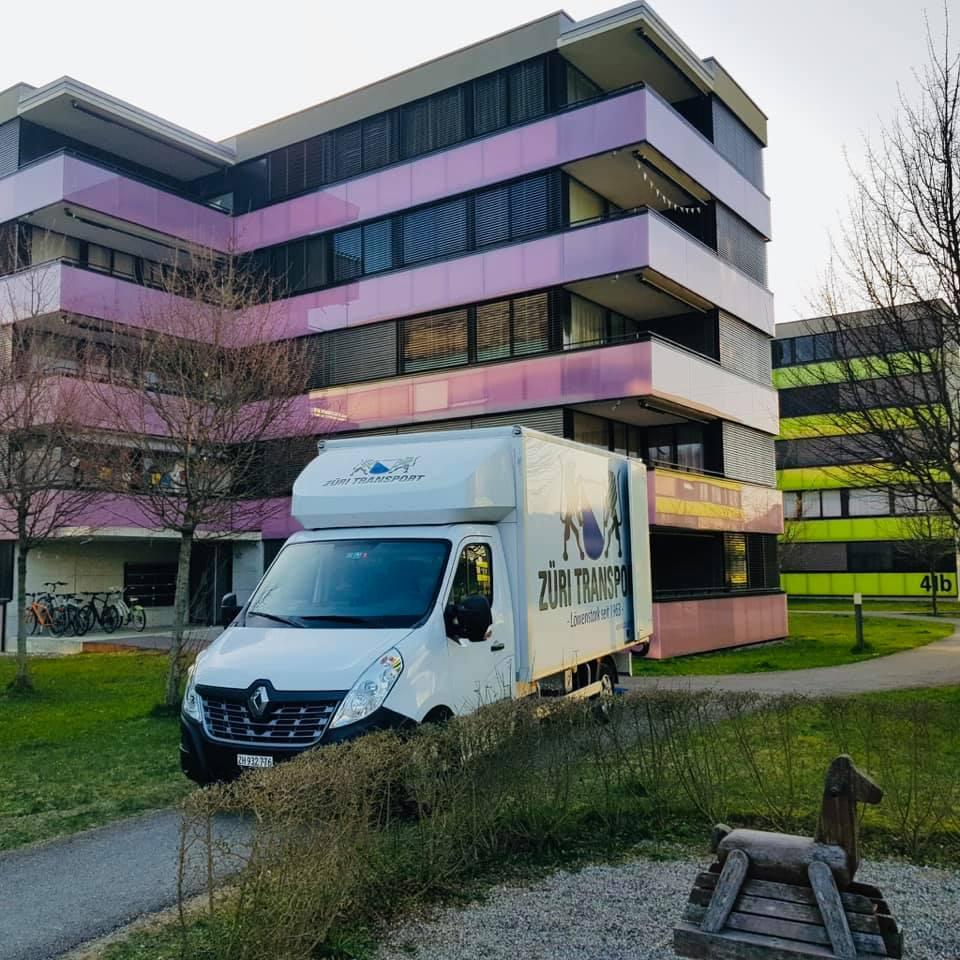 Firmenumzug, Büroumzug Winterthur