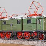 old elektrolok, model, model train