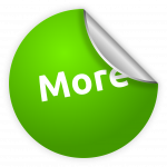 sticker, button, green