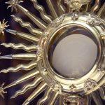 eucharist, monstrance, host
