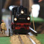 miniature, toy, railroad