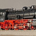 steam locomotive, person locomotive, model