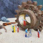 workshop, repair, miniature figures