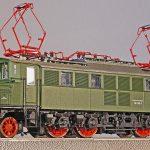 old elektrolok, model, track h0