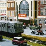 model train, railroad, train