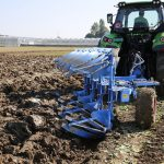 tractor, plough, fields