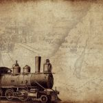 vintage, locomotive, mogul