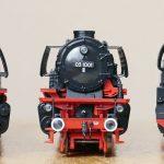 steam locomotive, models, parade
