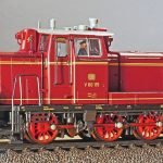 diesel locomotive, switcher, german federal railway