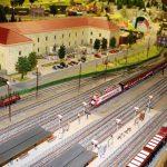 model train, railroad, track h0