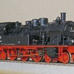 steam locomotive, model, h0
