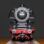 steam locomotive, model, model train