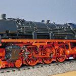 steam locomotive, model, br 03-10