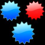 stars, badges, sticker