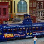 model train, tram, blackpool