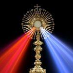 eucharist, divine mercy, monstrance