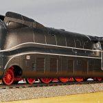 steam locomotive, model, current line