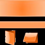banner, folder, frame