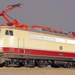 model train, track h0, electric locomotive