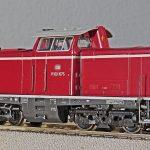 diesel locomotive, model, track h0