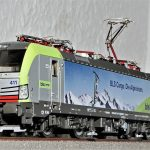 model train, electric locomotive, siemens