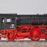 steam locomotive, model train, track h0