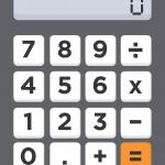 calculator, numbers, 0