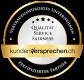 gütelsiegel züritransport Umzug in Zürich